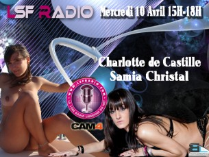 Charlotte de Castille et Samia Christal sur Cam4