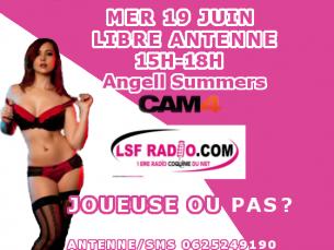 La magnifique Pornstar Angell Summers sur Cam4
