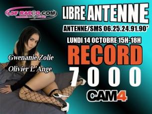 Gwenanie Zolie & Olivier L'Ange sur Cam4 pour une Webcam X