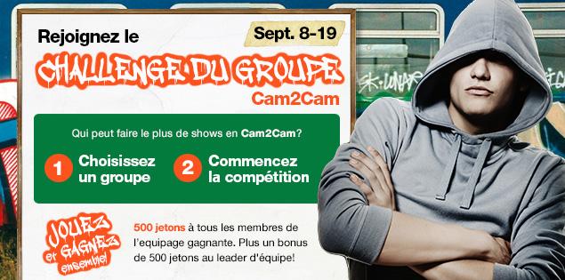 Le Concours du Groupe Cam2Cam