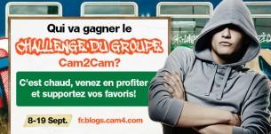 Les gagnants de notre concours du Cam2Cam