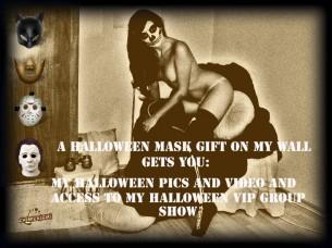 Offre vidéo spéciale Halloween de Chemical Girl