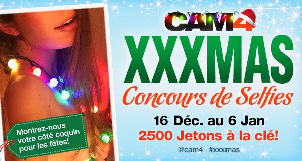 Participez au concours XXXMas avec Cam4
