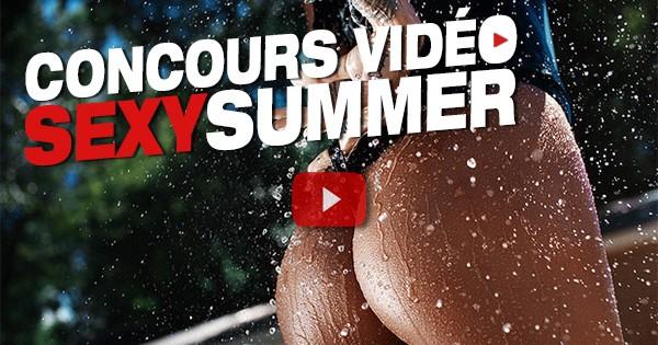 Votez pour les vidéos #sexysummer de notre concours