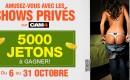 Nouvelle édition du concours de shows privés Lock in Private