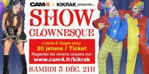Kikrak vous emmène au cirque ce samedi 5 décembre