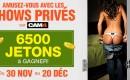 Nouvelle édition de Lock in Private – concours des shows privés
