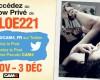 Chloe221 vous invite à son Show Privé