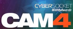 Cam4 gagne le prix du meilleur site de webcams gay live aux Cybersocket