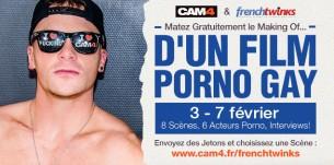 Retour de French twinks sur Cam4 pour un nouveau tournage de film Gay