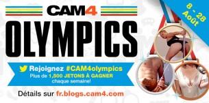 """les 3 gagnants du concours #CAM4Olympics """"les jeux aquatiques""""!"""
