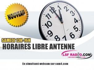 Samedi 18 Mars LSF Radio fait son Show en Direct sur Cam4 avec la camgirl Chloé Sanchez !