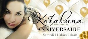 Kat_Aluna fêtes son anniversaire sur CAM4 le Samedi 11 mars à 21h30