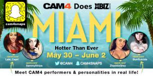 CAM4 est à Miami cette semaine pour les XBIZ Awards