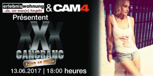 Mardi 13 Juin à 18h : Joignez-vous au scandaleux XXXGangbang en live sur Cam4