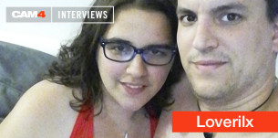 Loverilx, l'interview vidéo d'un couple bisexuel en webcam gratuite sur CAM4