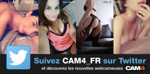 Nouveau TOP 15 : des webcameuses françaises les plus suivis sur Twitter!