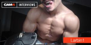 Découvrez l'interview exclusive de Larbin1 : des muscles et du jus a volonté sur nos cam gay