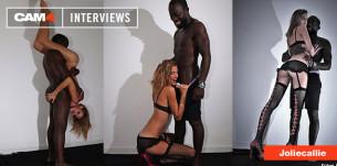 JolieCallie en webcam gratuite, découvrez la 2ème partie de la vidéo interview sur CAM4
