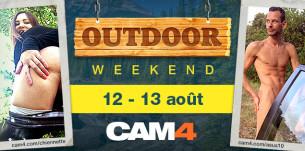 Concours OUTDOOR week-end (12 et 13 août) – jusqu'à 200 jetons pour votre diffusion en extérieur!