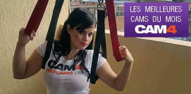 """C'est le début de l'automne, la webcam adulte du mois de septembre est très """"appréciée"""" sur CAM4!"""