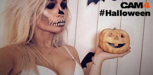 """Sur CAM4, célébrez #Halloween avec plein de webcam show et des photos très """"sexy"""""""