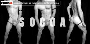 Performance masculine semaine 42 : L'abus de Socoa est bon pour la santé en gay webcams
