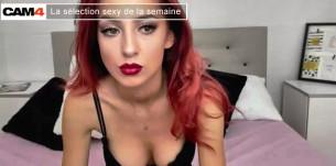 La sélection sexy de la semaine (42) :  Le fantasme de la rousse pulpeuse en webcam chaude