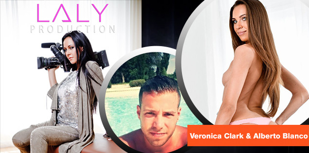 Laly Production en Tournage X : lundi 20 Novembre avec Veronica Clark & Alberto Blanco