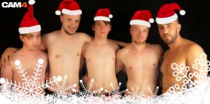 Evénement: Passez les fêtes avec DiableX et ses boys en live cam gay
