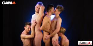 Performance de la semaine 52: Les soirées endiablées des Gaypards en live cam gay