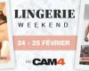 Des shows en lingerie et sous-vêtement sexy ce week-end en cam live sex