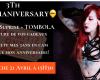 Venez fêter le cammaniversaire de la webcam girl Gladyce_foxy le 21 avril à 15h30