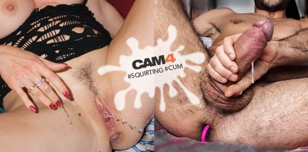 Faites le plein d'éclaboussures en webcam hot: assouvissez votre soif avec ces photos sur le thème CUM et Squirting!