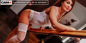 La Sélection Sexy de la Semaine (17): Les Tops webcameuses du Moment en webcam femme gratuit