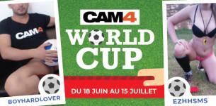 Des shows spécials Coupe du monde 2018 sur CAM4 en cam sexe