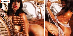 SweetyRoxy, une ebony sensuelle et chaude en sex cams!