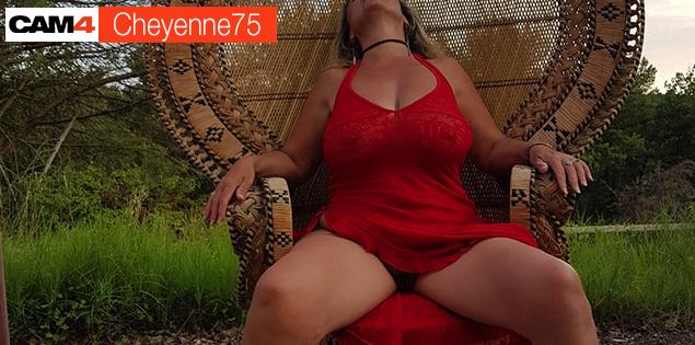 Cheyenne75, La MILF qu'il vous manquait en free sexcam