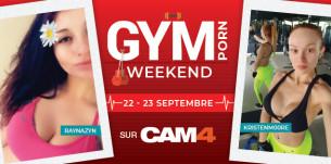 Ce week-end CAM4 devient une salle de #GymPorn