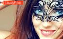 Interview vidéo de LovelyFlake, mystérieuse et sensuelle en webcam hot!
