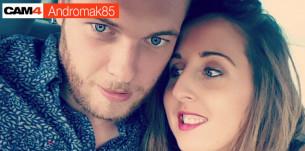 Andromak85, un couple fun et très chaud en webcam hot, l'interview exclusive!