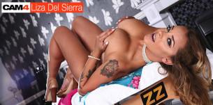 Liza Del Sierra, the anal Queen: interview vidéo sur CAM4 !