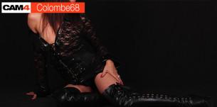 Colombe68, une MILF super bandante en webcam hot !