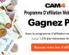 Augmentez vos revenus avec le programme d'affiliation pour webcameur(se) - 2$ par nouveau inscrit sur CAM4