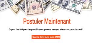 CAM4 propose un nouveau programme d'affiliation pour webmasters