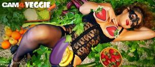 Les légumes sont à la mode! Le Weekend végétarien arrive sur CAM4!