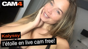 "Les shows de folie de Kalyssy, les détails de ses ""sea, sex and squirt"" sur cam4 en interview vidéo! Merci le live cam sex free!"