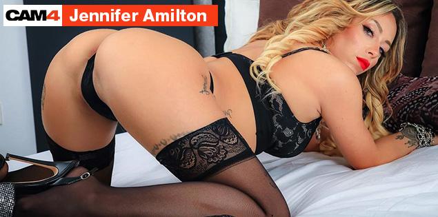 Jennifer Amilton, une actrice X en cam porn, le 14 Avril à 22h sur CAM4! Découvrez son interview vidéo ici!