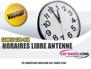 La libre antenne d'LSF radio:  Tous les samedi 13h-16h – Programme de Mars 2019