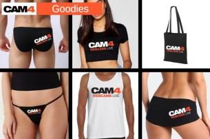 10% de remise sur les goodies CAM4 – Craquez pour les nouveaux: t-shirt, string, débardeur… préparez-vous en sex cam amateur!!